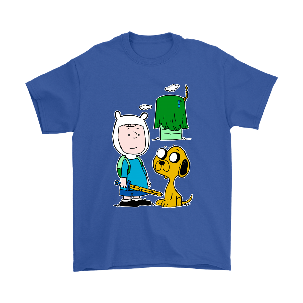 Peanuts Adventure Time Mashup Snoopy Shirts 6