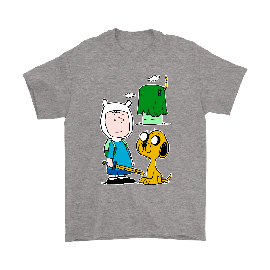 Peanuts Adventure Time Mashup Snoopy Shirts 7