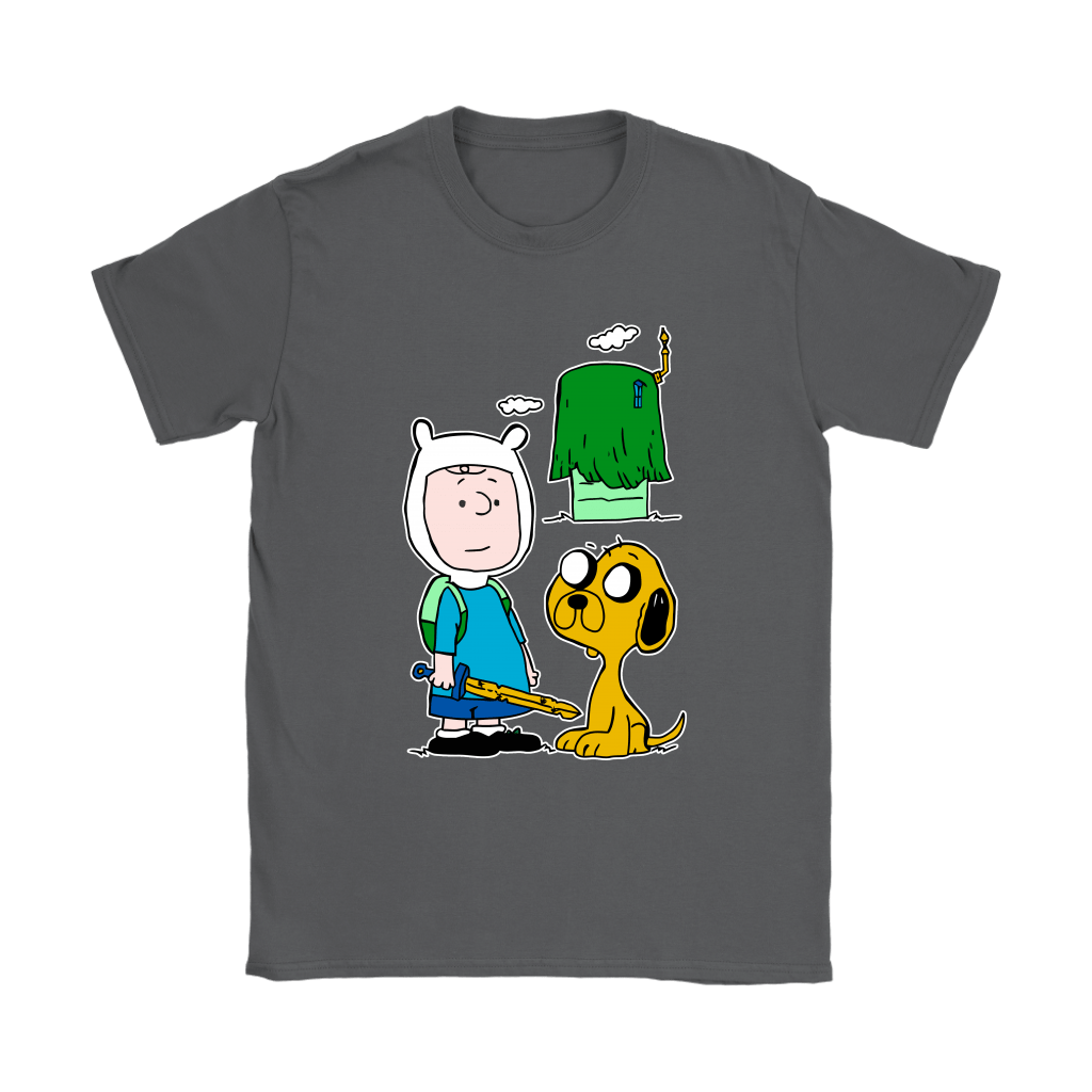 Peanuts Adventure Time Mashup Snoopy Shirts 9