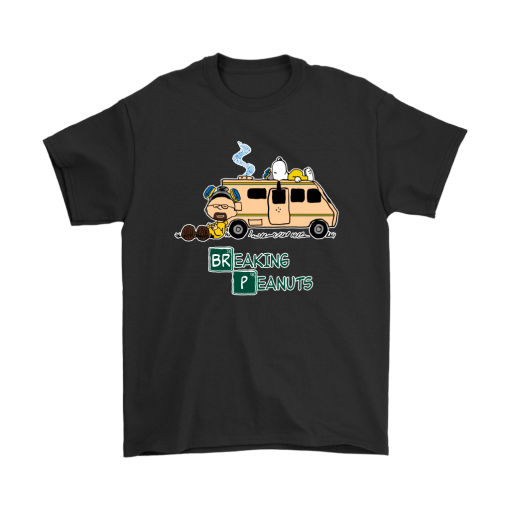 Peanuts Breaking Bad Mashup Snoopy Shirts 1