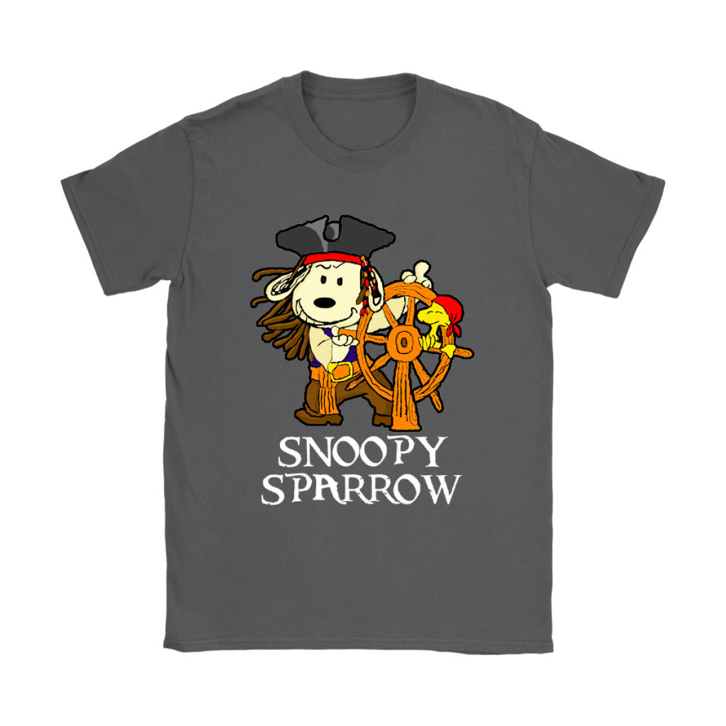 Pirates Of The Caribbean Captain Snoopy Sparrow Shirts 9