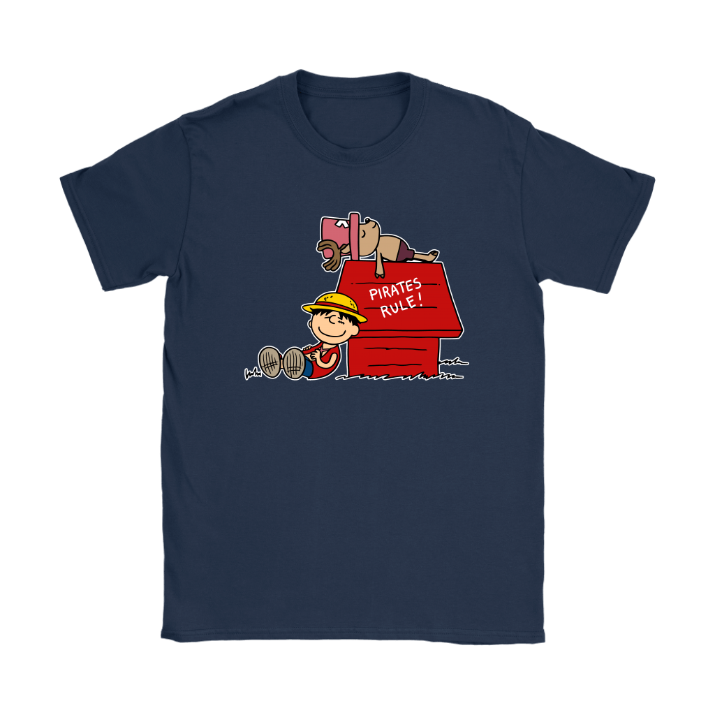 Pirates Rule One Piece Mashup Snoopy Shirts 10