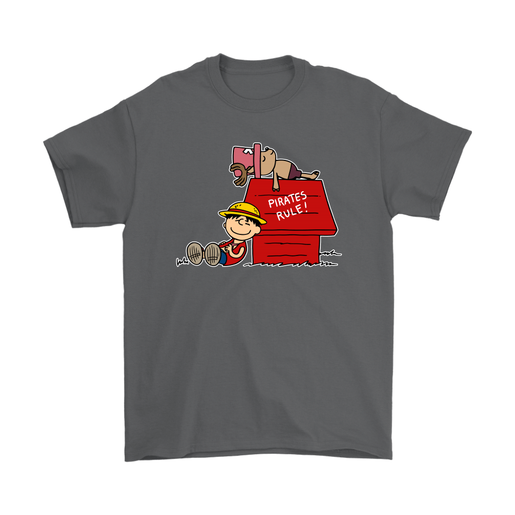 Pirates Rule One Piece Mashup Snoopy Shirts 2