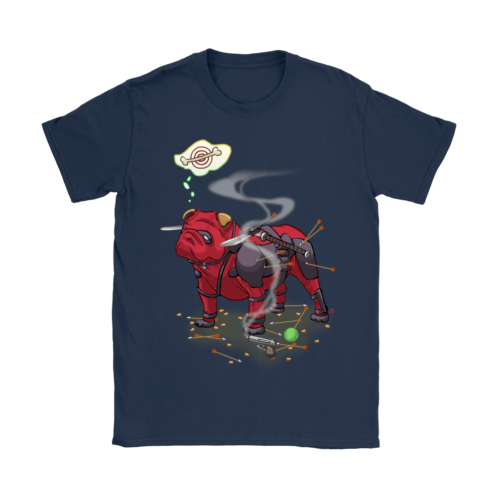 Pitbull Deadpool Target Dog Bone Shirts 8
