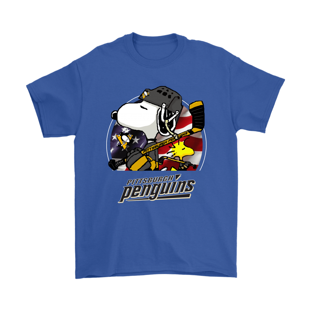 Pittsburgh Penguins Ice Hockey Snoopy And Woodstock NHL Shirts 5
