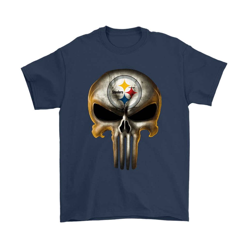 Pittsburgh Steelers The Punisher Mashup Football Shirts 3