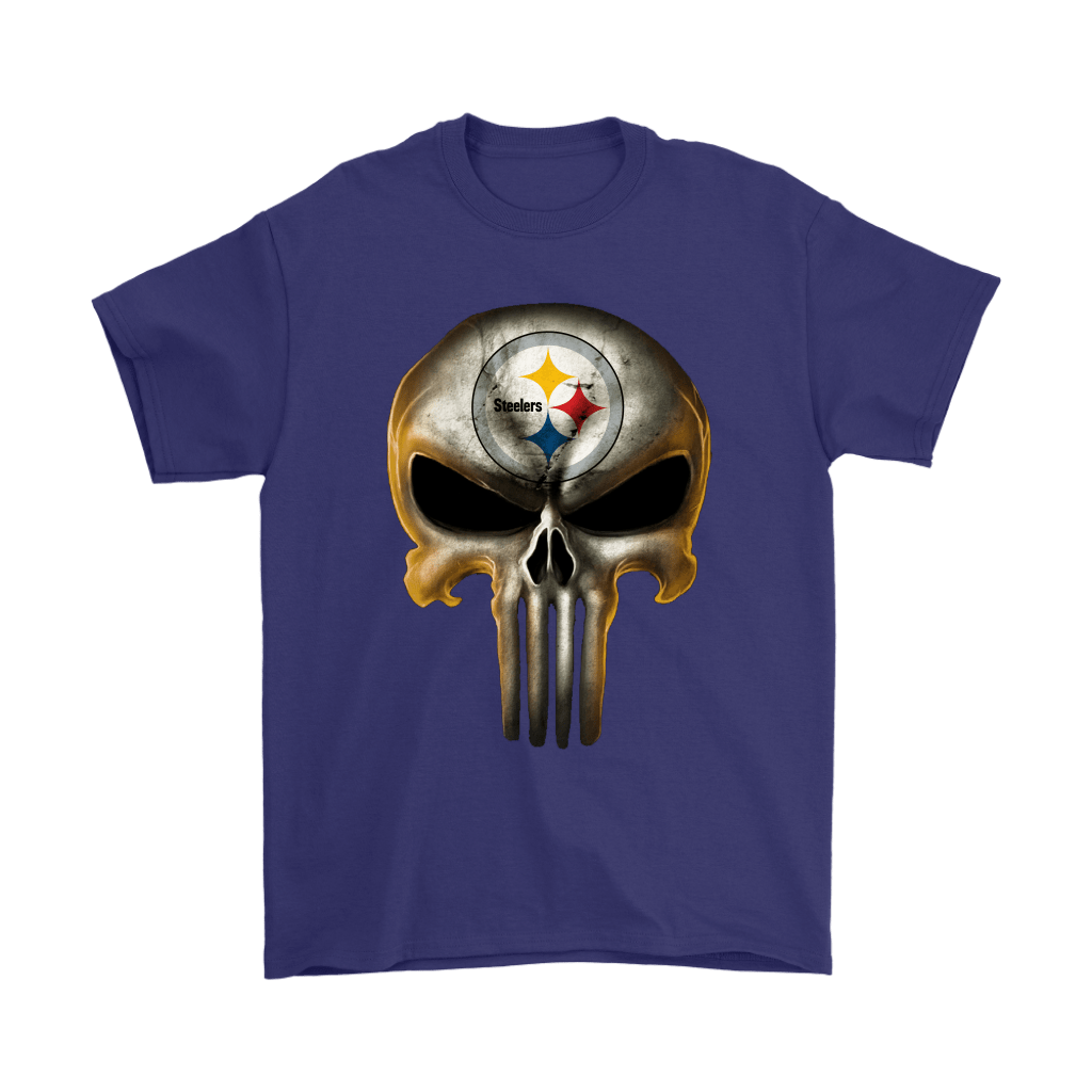 Pittsburgh Steelers The Punisher Mashup Football Shirts 4