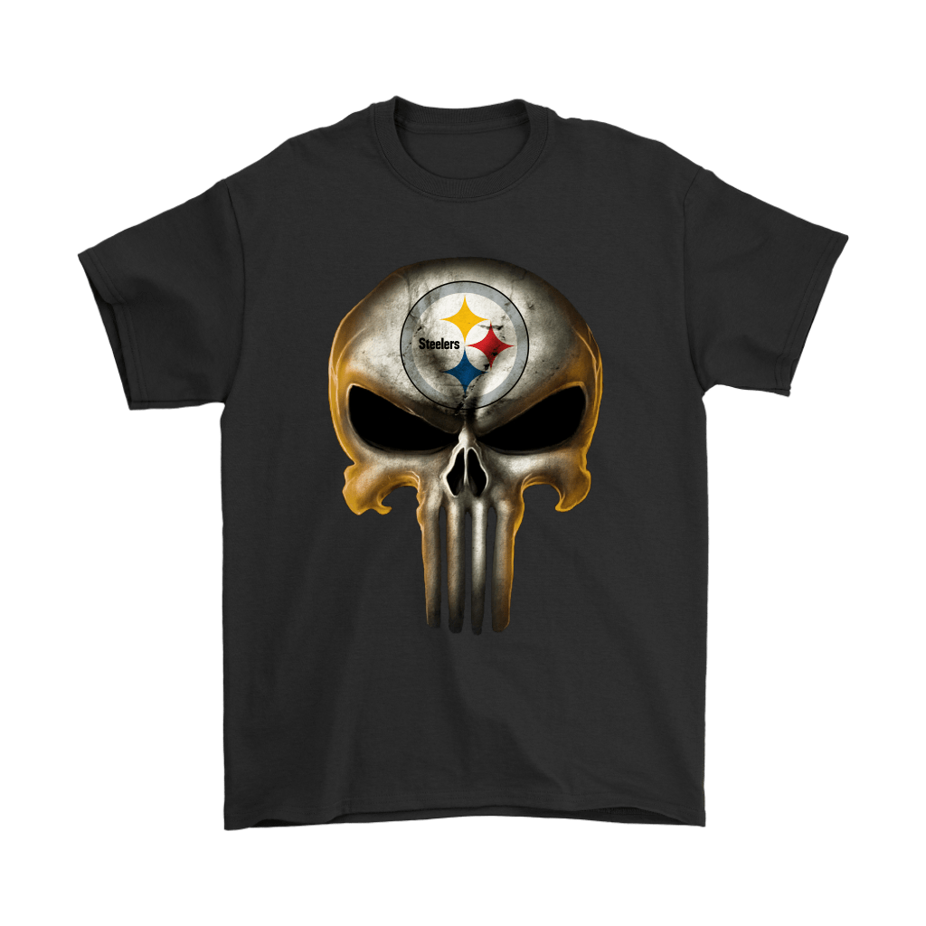 Pittsburgh Steelers The Punisher Mashup Football Shirts 1