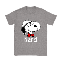 Snoopy Nerd Smart And Cool Snoopy Shirts 24