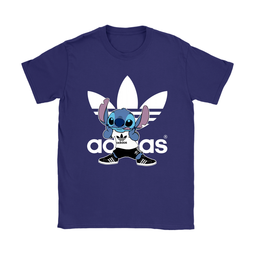 Sporty Stitch Disney x Adidas Mashup Shirts 11