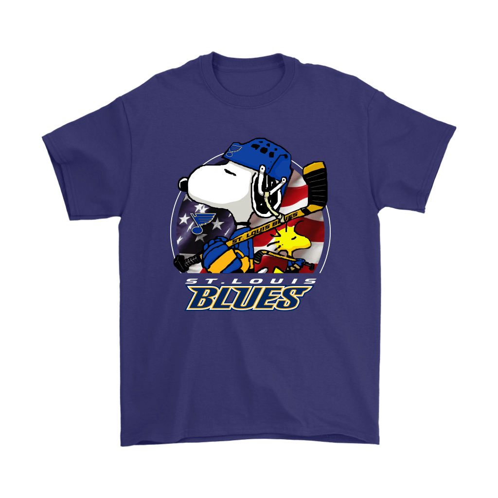 St. Louis Blues Ice Hockey Snoopy And Woodstock NHL Shirts 4