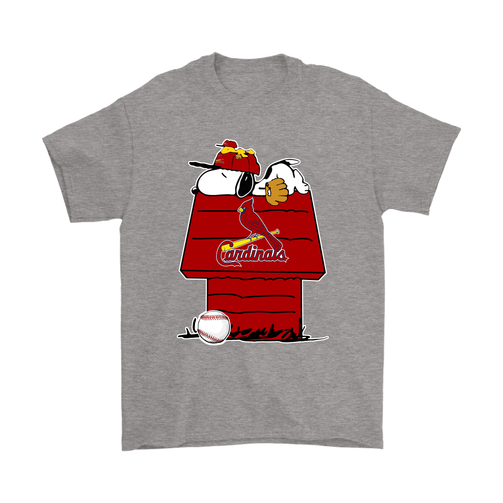 St. Louis Cardinals Snoopy And Woodstock Resting Together MLB Shirts 6