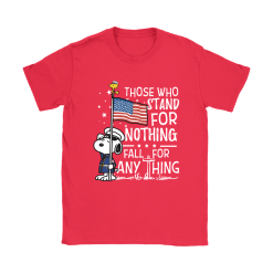 Stand For Nothing Fall For Anything U.S. Veteran Snoopy Shirts 25