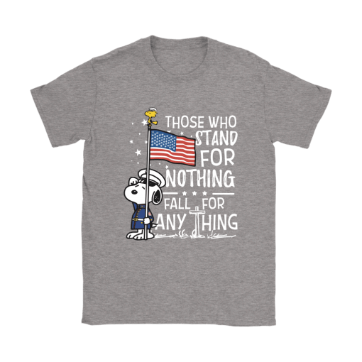 Stand For Nothing Fall For Anything U.S. Veteran Snoopy Shirts 14