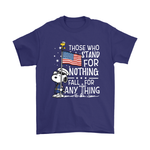 Stand For Nothing Fall For Anything U.S. Veteran Snoopy Shirts 4