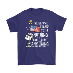 Stand For Nothing Fall For Anything U.S. Veteran Snoopy Shirts 17