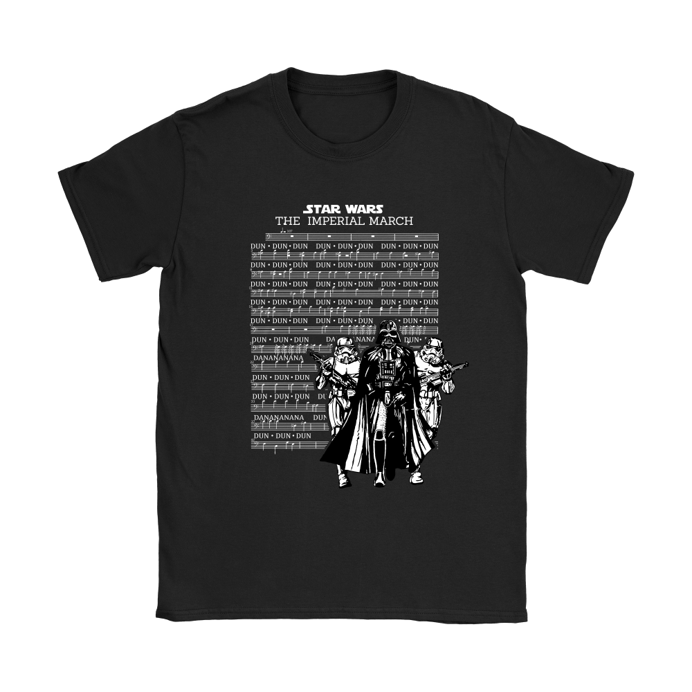 Star Wars The Imperial March Music Sheet Darth Vader Shirts 6