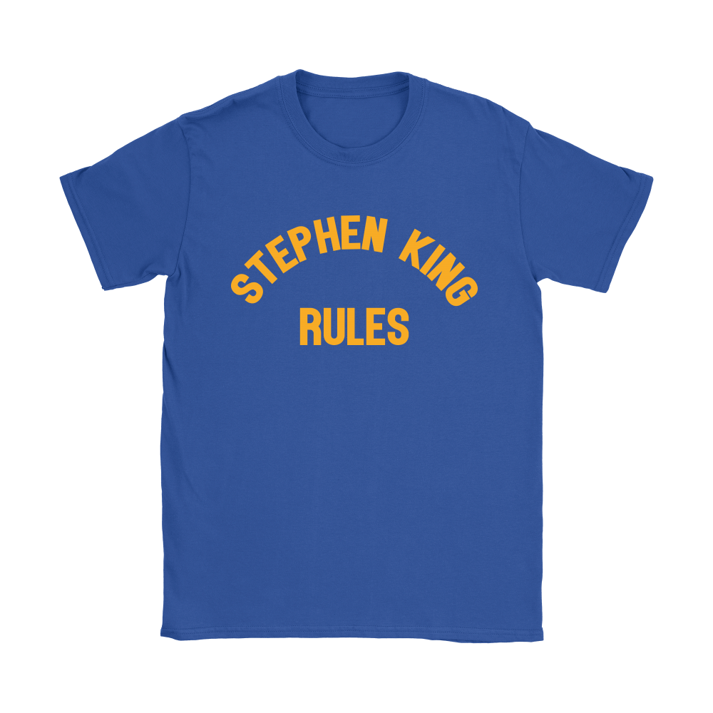 Stephen King Rules Book Lover Shirts 12