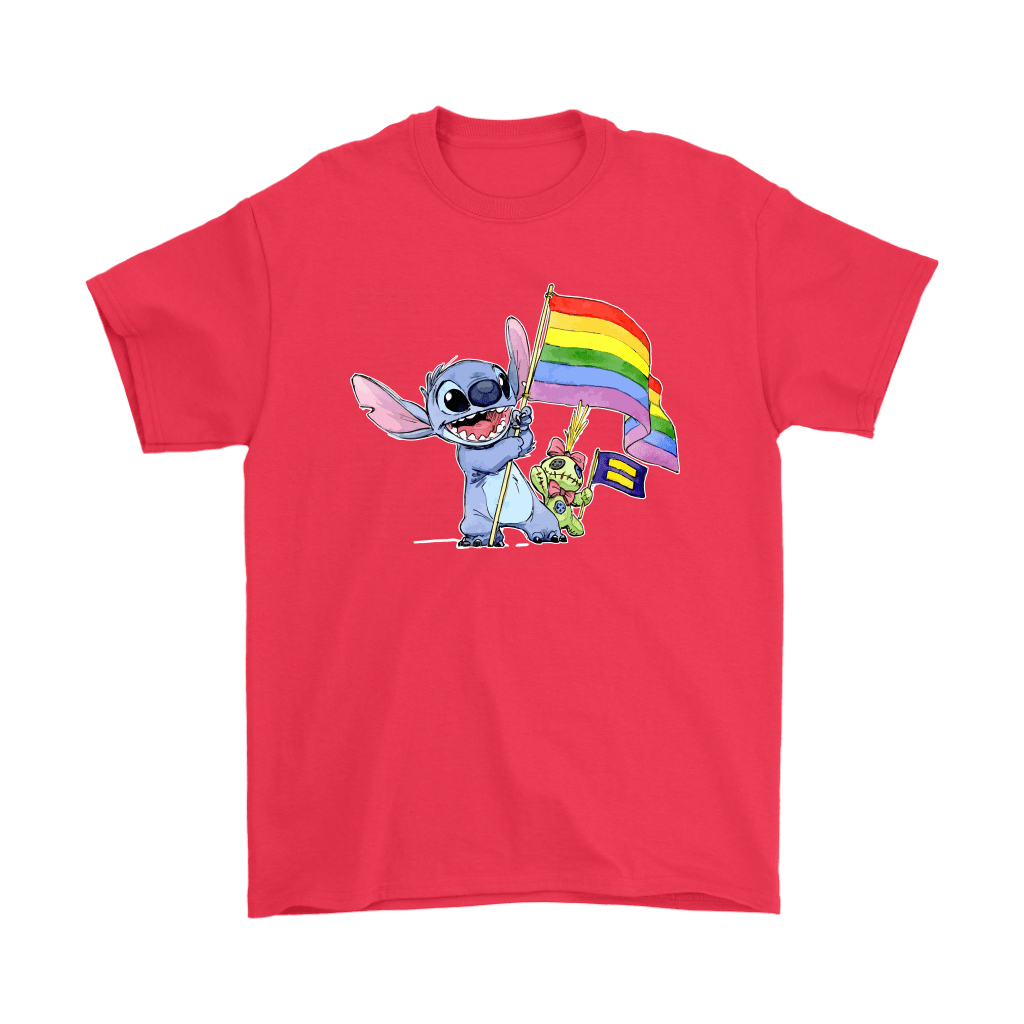 Stitch Support LGBT And Human Rights Love Wins Shirts 4