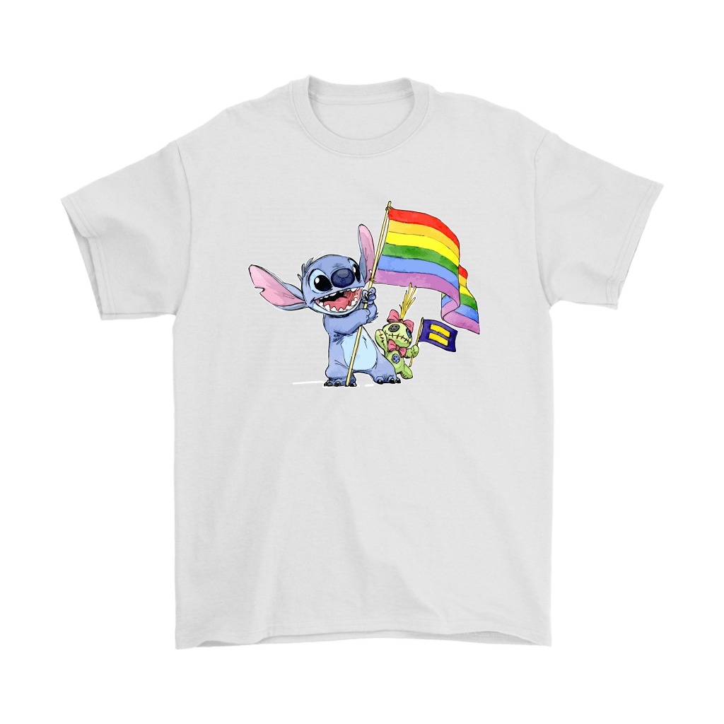 Stitch Support LGBT And Human Rights Love Wins Shirts 7