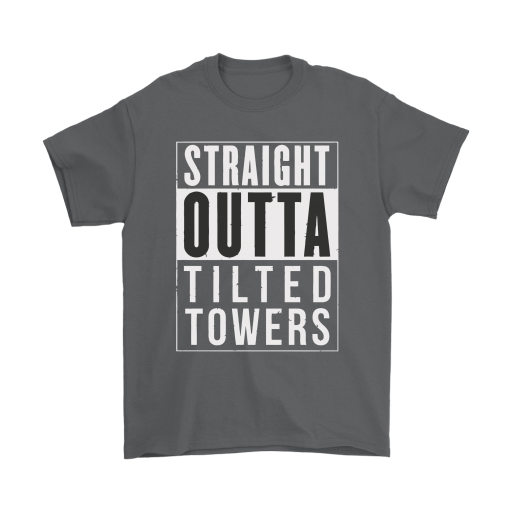 Straight Outta Tilted Towers Fortnite Gamer Shirts 2