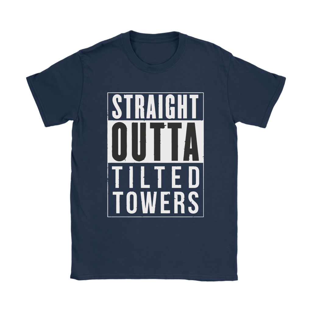 Straight Outta Tilted Towers Fortnite Gamer Shirts 9