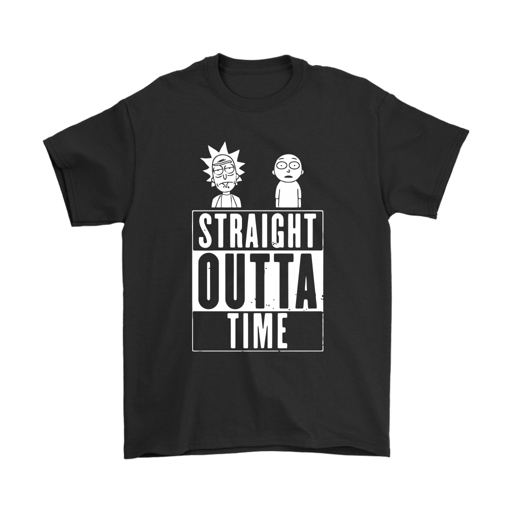 Straight Outta Time Rick And Morty Shirts 1