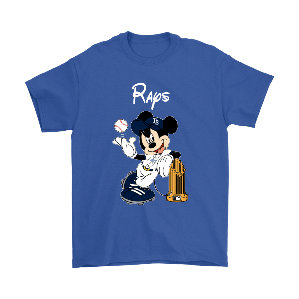 Tampa Bay Rays Mickey Taking The Trophy MLB 2018 Shirts 6