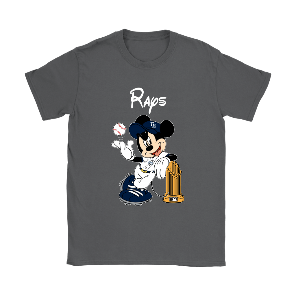 Tampa Bay Rays Mickey Taking The Trophy MLB 2018 Shirts 9