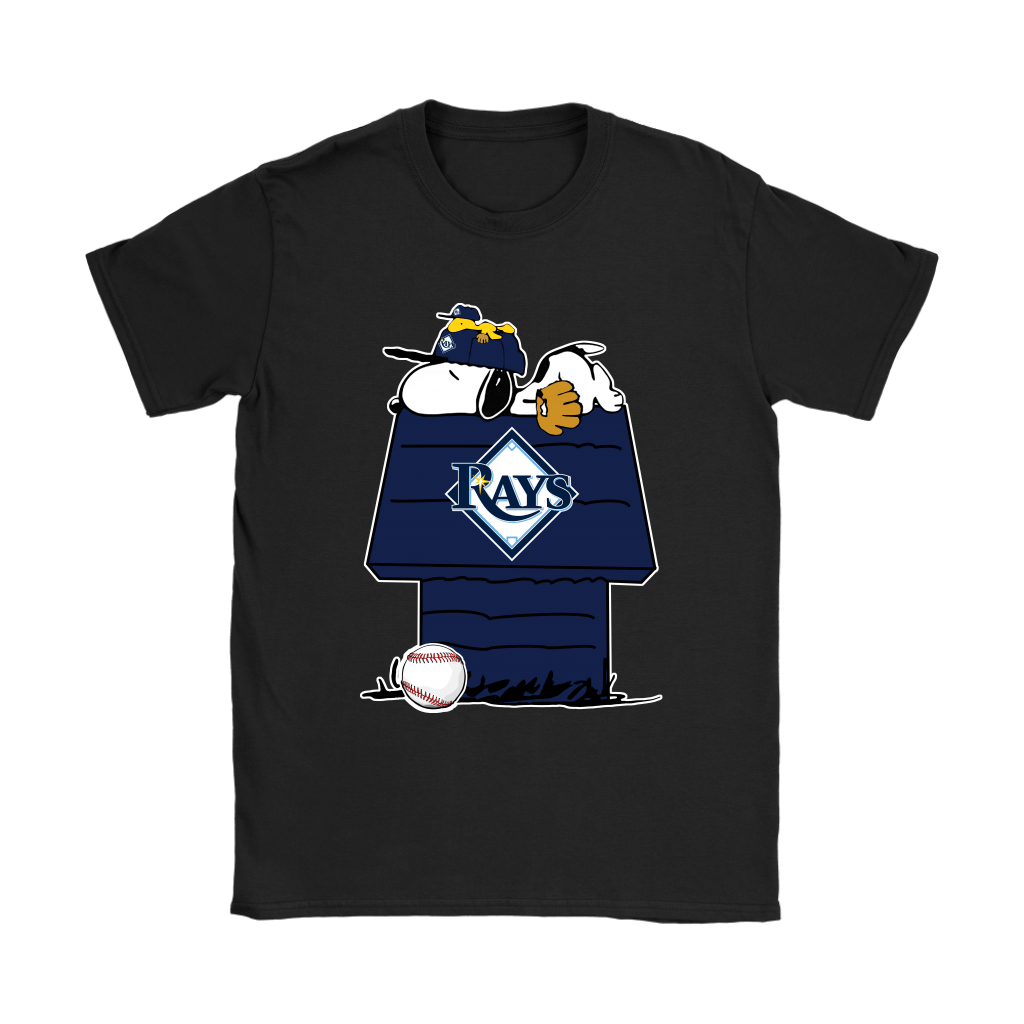 Tampa Bay Rays Snoopy And Woodstock Resting Together MLB Shirts 7