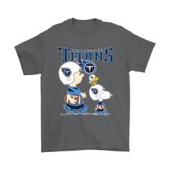 Tennessee Titans Let's Play Football Together Snoopy NFL Shirts 13