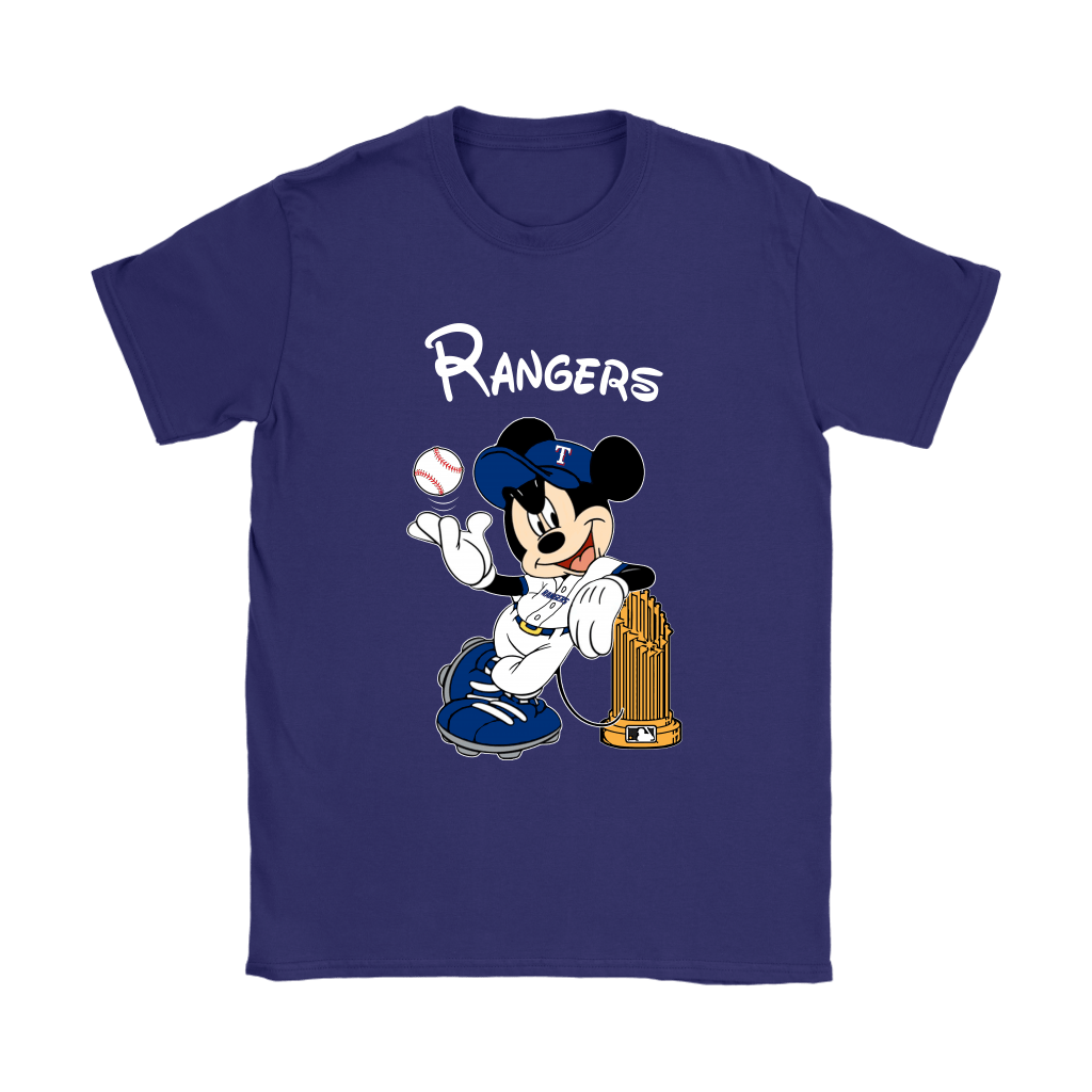 Texas Rangers Mickey Taking The Trophy MLB 2018 Shirts 11