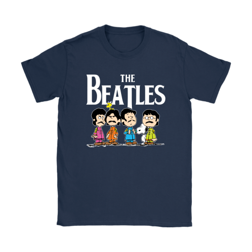 The Beatles With Woodstock And Snoopy Shirts 10