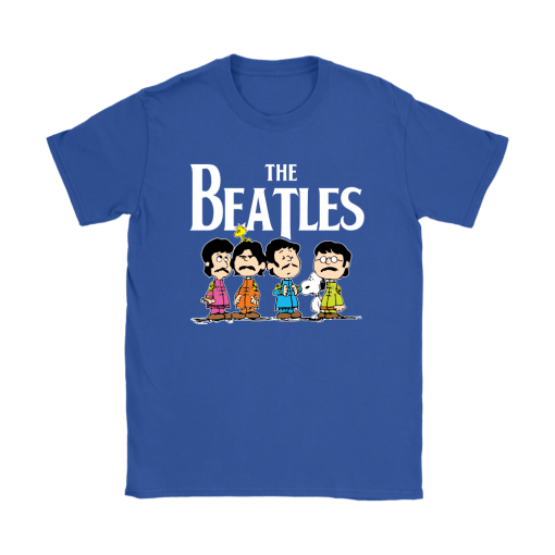 The Beatles With Woodstock And Snoopy Shirts 13