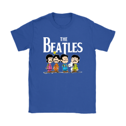 The Beatles With Woodstock And Snoopy Shirts 26