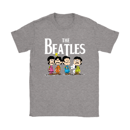 The Beatles With Woodstock And Snoopy Shirts 14