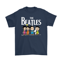 The Beatles With Woodstock And Snoopy Shirts 16
