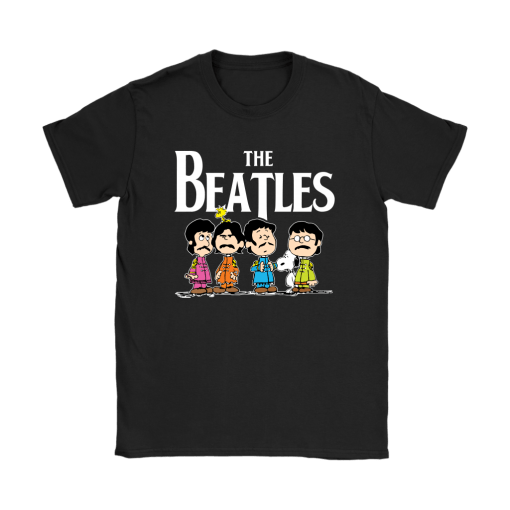The Beatles With Woodstock And Snoopy Shirts 8