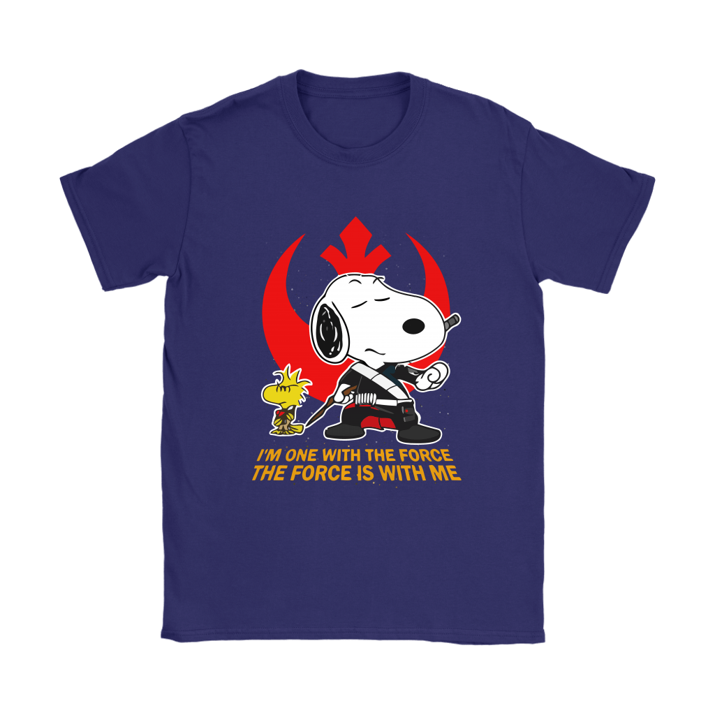 The Force Is With Me Star Wars Snoopy Shirts 11