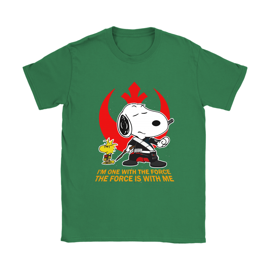 The Force Is With Me Star Wars Snoopy Shirts 14