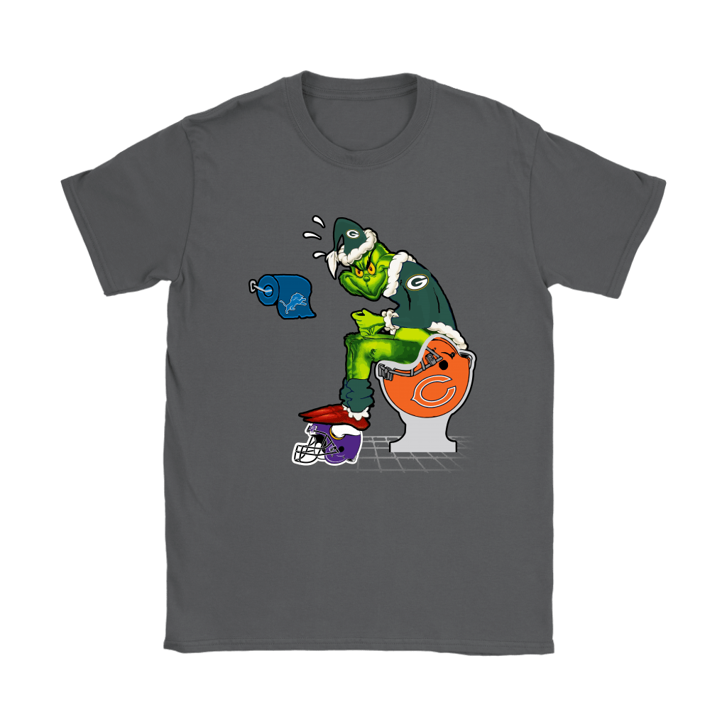 The Grinch Green Bay Packers Shit On Other Teams Christmas Shirts 9