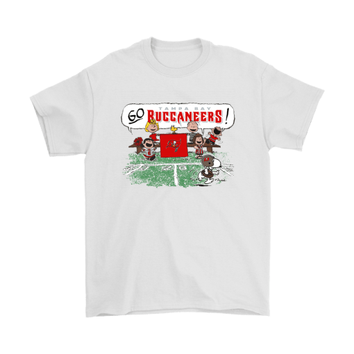 The Peanuts Cheering Go Snoopy Tampa Bay Buccaneers Shirts 2