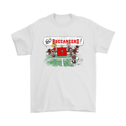 The Peanuts Cheering Go Snoopy Tampa Bay Buccaneers Shirts 5