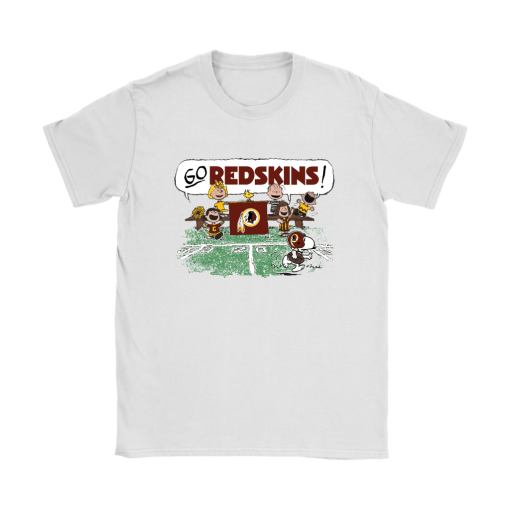 The Peanuts Cheering Go Snoopy Washington Redskins Shirts 4