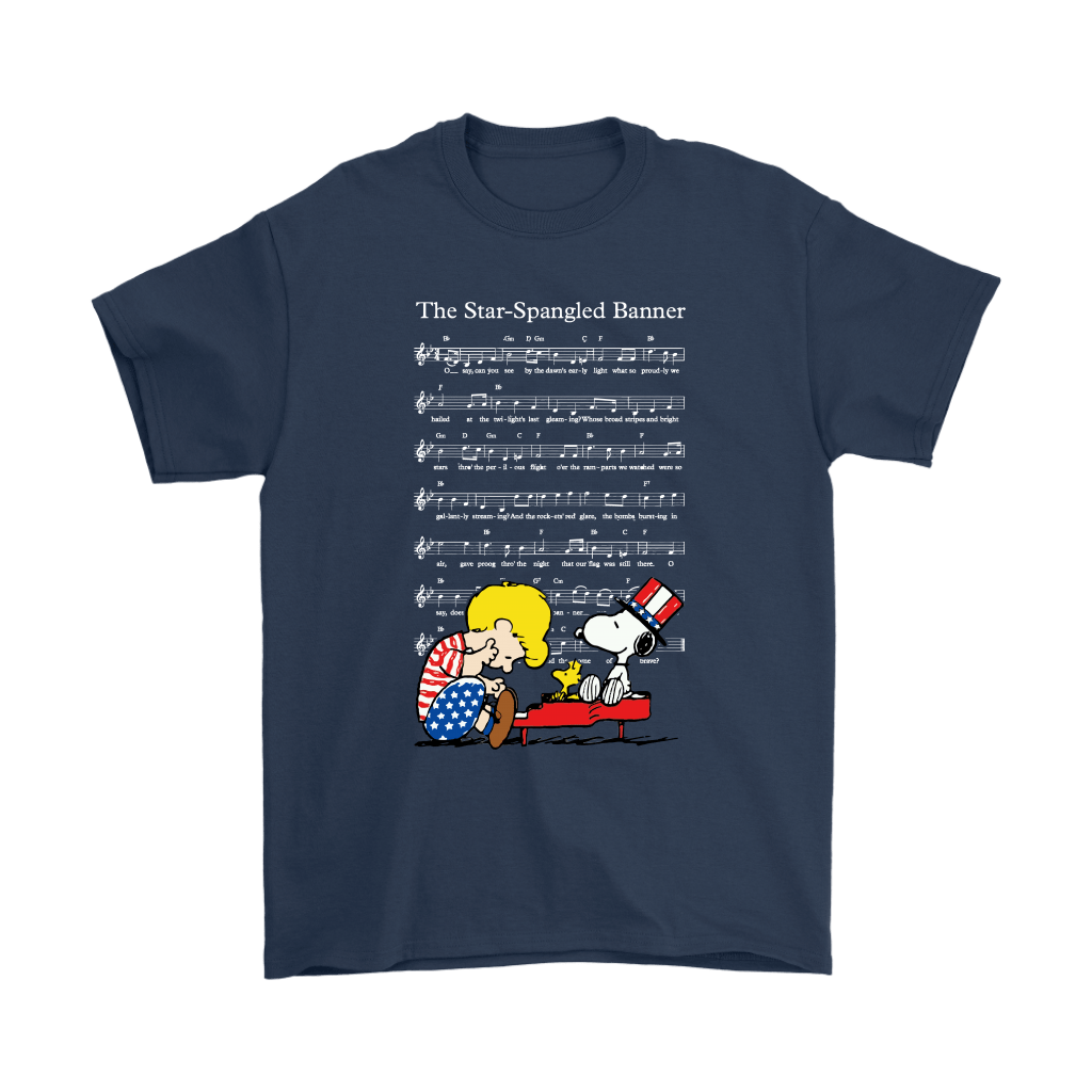The Star-Spangled Banner Snoopy Independence Day 4th Of July Shirts 3