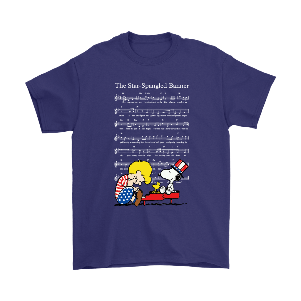 The Star-Spangled Banner Snoopy Independence Day 4th Of July Shirts 4