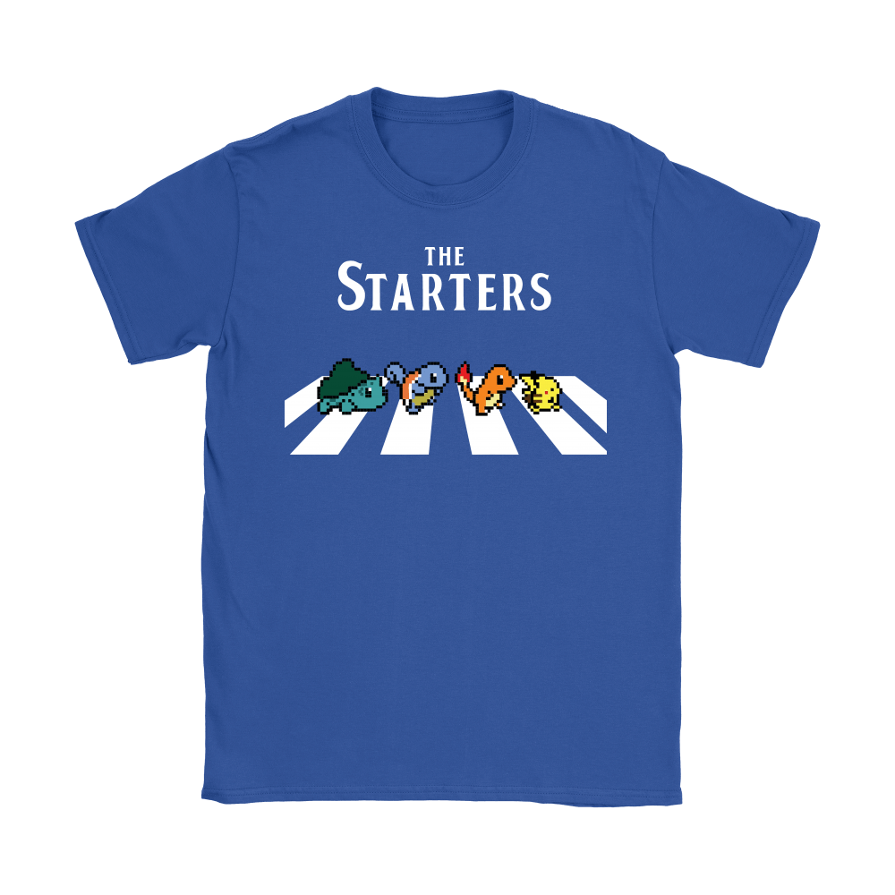 The Starters Abbey Road Pokemon Shirts 14