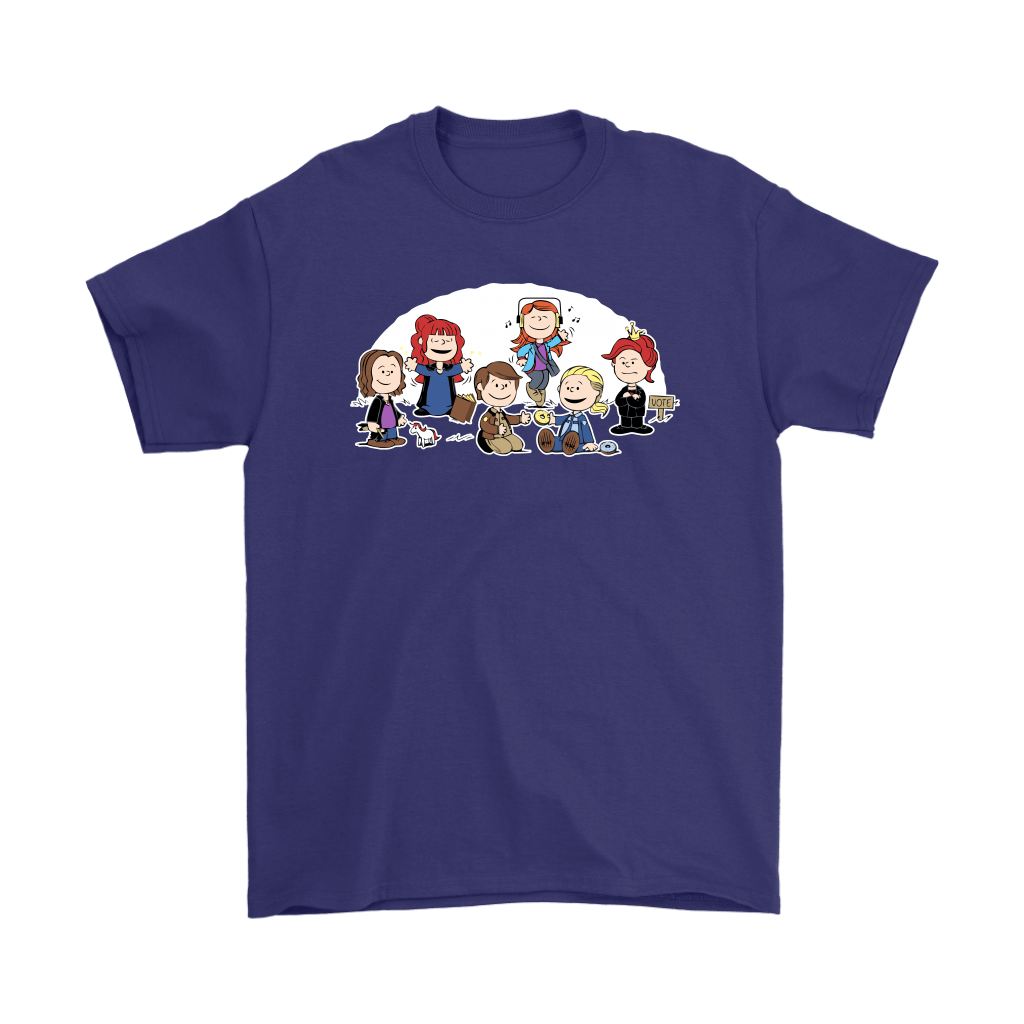The Super Nutural Girls Snoopy Shirts 4