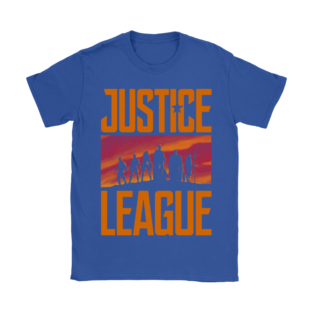 They've Never Faced Us Before. Not Us United! Justice League Shirts 10