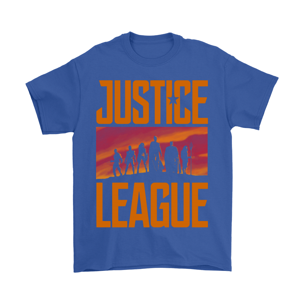 They've Never Faced Us Before. Not Us United! Justice League Shirts 5